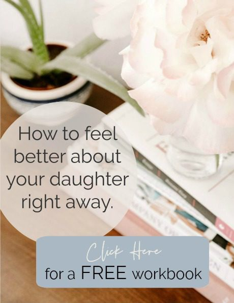 relationship workbook, free printable, mothers and daughters, clearing your path, Barbara Albright, feel better